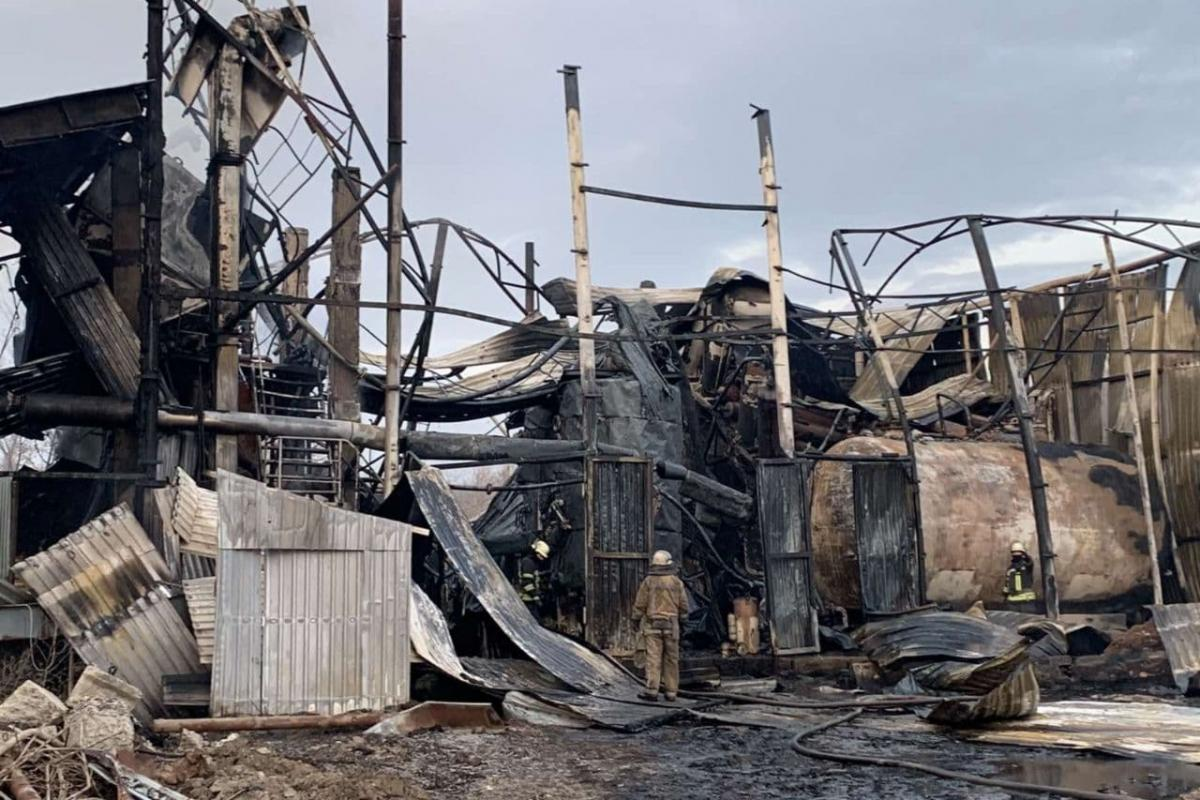 Взрыв в Харькове / фото dsns.gov.ua