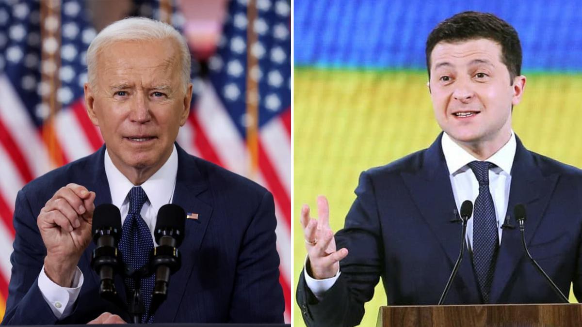 Joe Biden and Vladimir Zelensky will meet in Washington / UNIAN collage