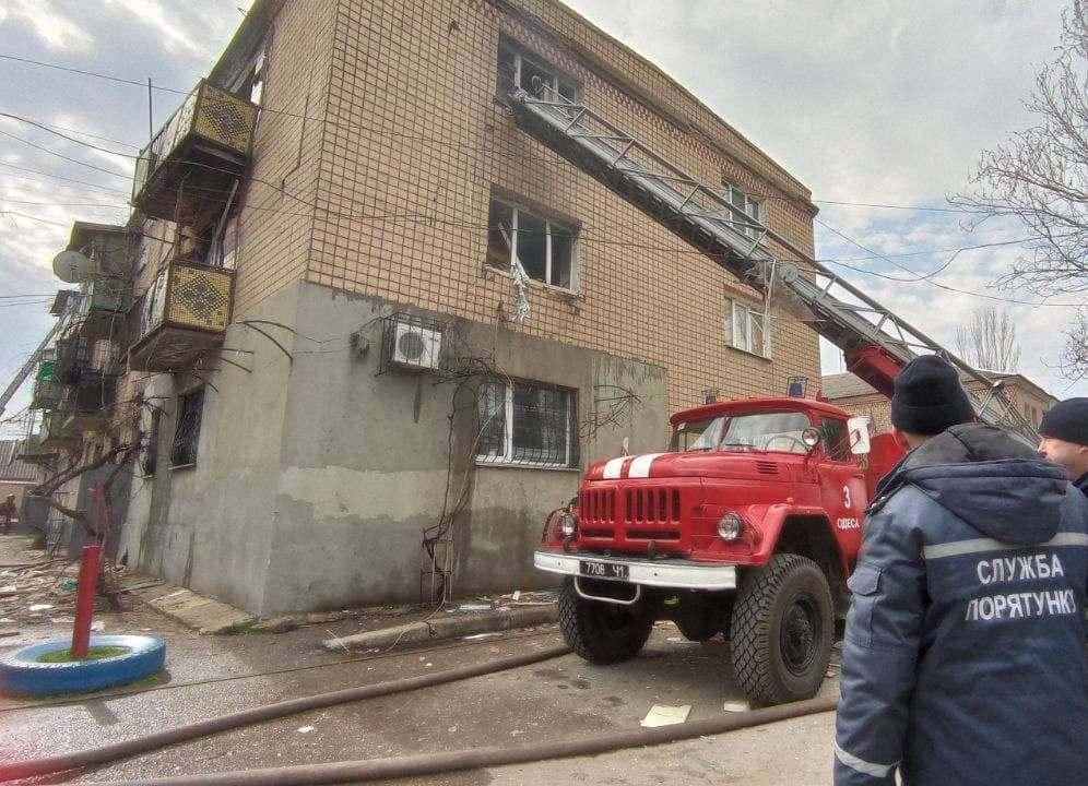 В Одной из квартир в Одессе взорвался газ / фото od.dsns.gov.ua