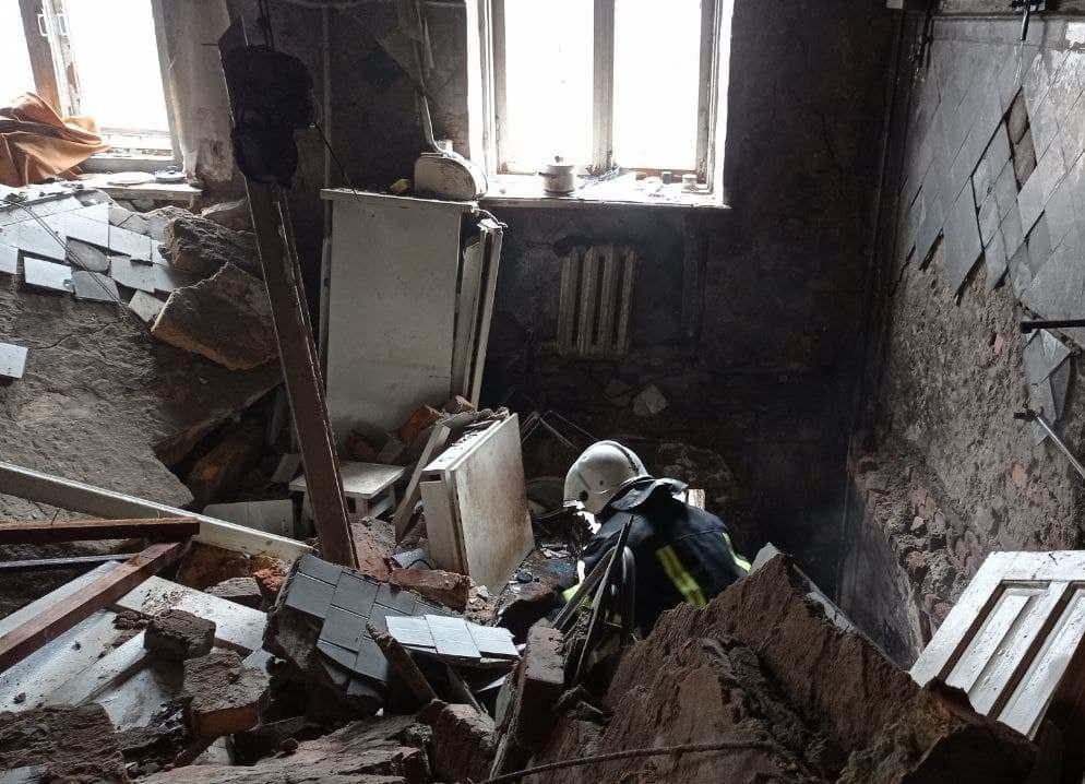 Вквартире на втором этаже произошло возгорание и взрыв газовоздушной смеси \ od.dsns.gov.ua