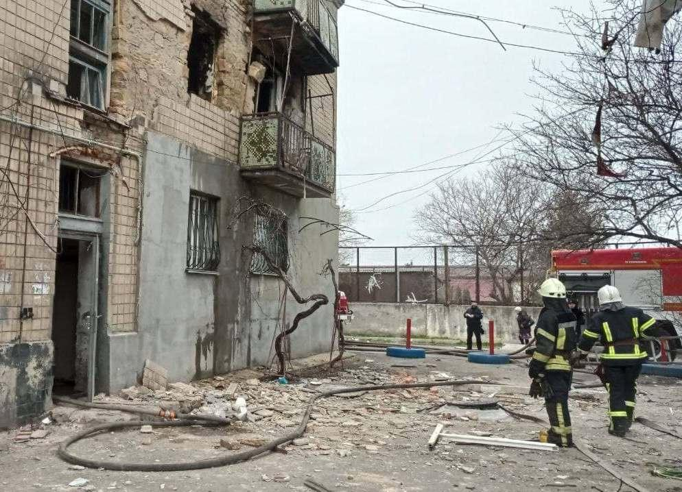 По предварительным данным, пострадали пятьчеловек \ od.dsns.gov.ua