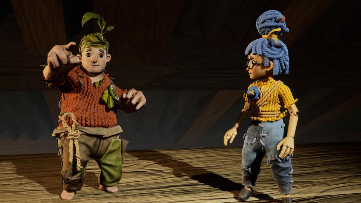 Вот такими Коди и Мэй будут на протяжении большей части игры / скриншот