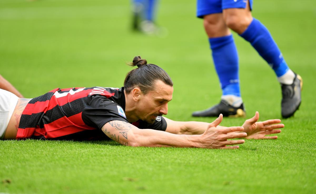 Златан Ибрагимович провел на поле все 90 минут / фото REUTERS