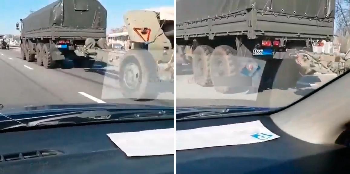 Расследователи предполагают, что к границе с Украиной перебрасывают технику даже из Центрального военного округа / фото Conflict Intelligence Team