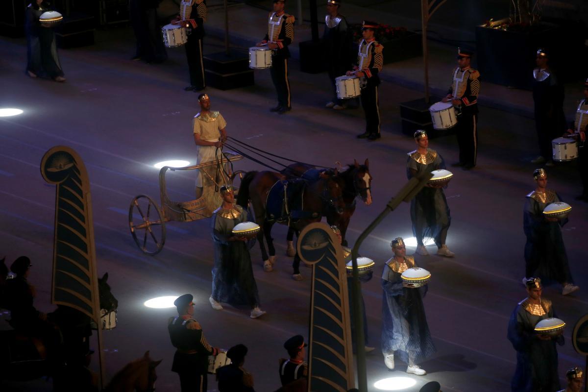 """Организация """"Золотого парада фараонов"""" стоила несколько миллионов долларов / фото REUTERS"""