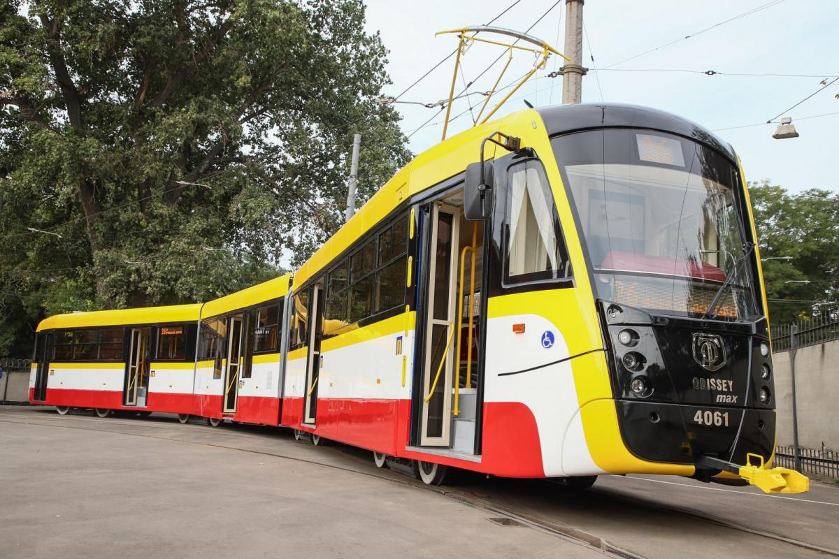 В ближайшее время трамвай выйдет на маршрут / фото omr.gov.ua