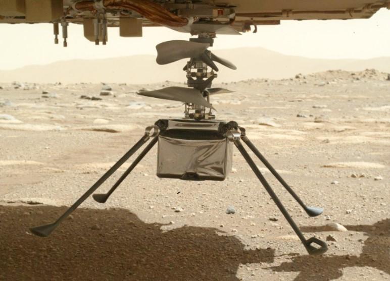 Стоимость проекта Ingenuity составляет около 85 миллионов долларов/ фото NASA