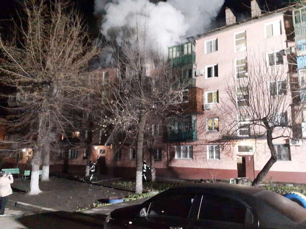 Під час пожежі загинуло троє осіб / фото ДСНС