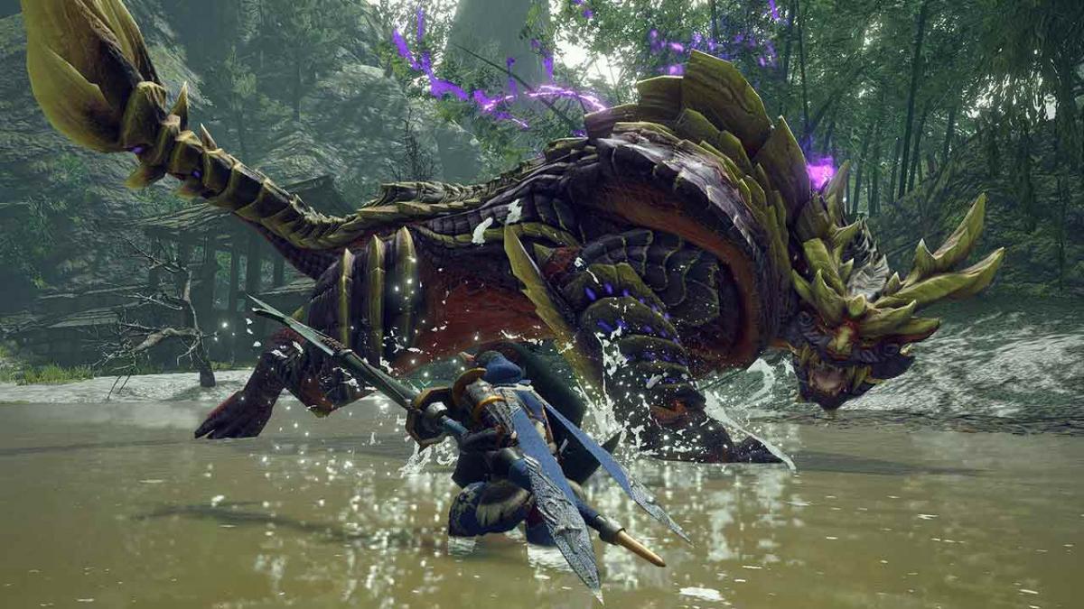 Monster Hunter Rise вийшла 26 березня на Nintendo Switch / фото Capcom