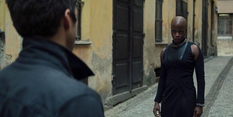 Камбэк Окойе был довольно неожиданным / кадр из фильма «Сокол и Зимний солдат»