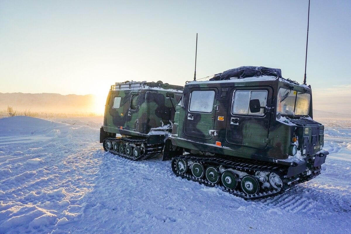 Всюдихід SUSV на навчаннях Arctic Warrior 21 / Maj. Jason Welch/U.S. Army