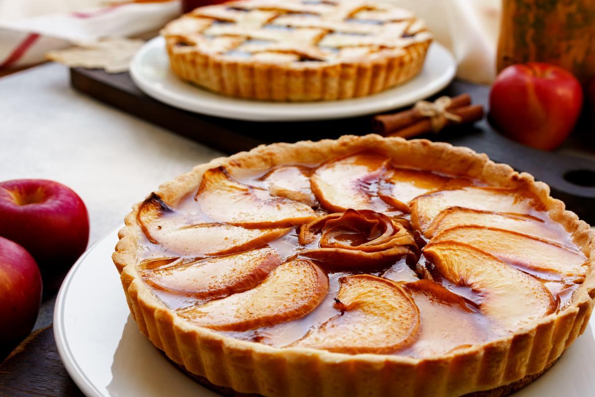 Рецепт тарта с яблоками / фото ua.depositphotos.com