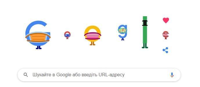 Скриншот Google
