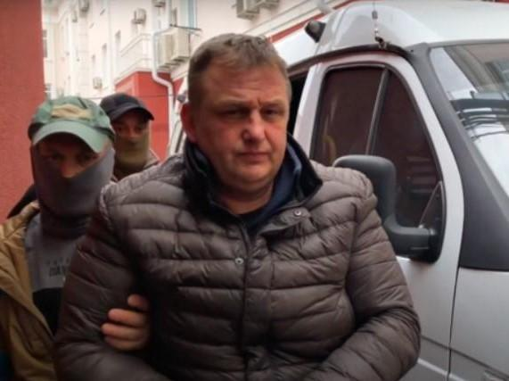 Yesypenko was detained on March 10 / Snap from video