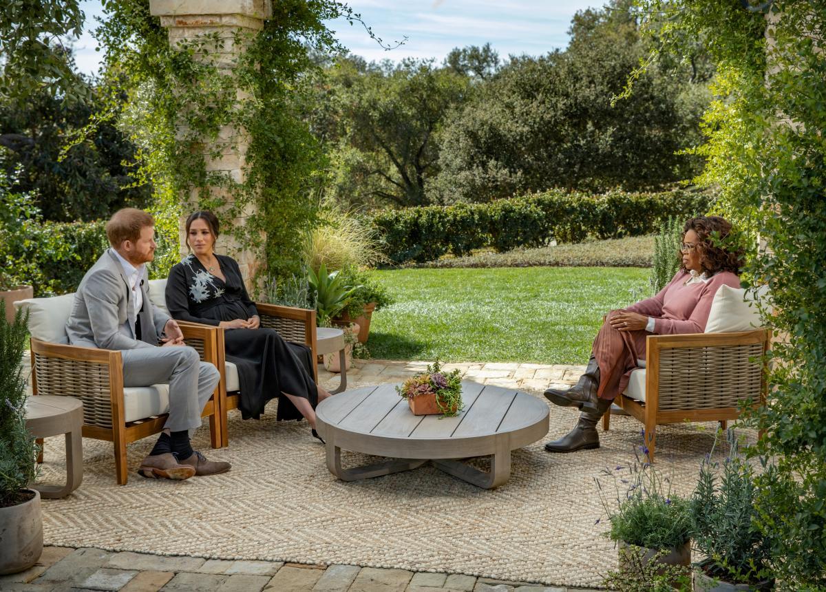 Принц Гаррі і Меган Маркл дали інтерв'ю Опрі Вінфрі / фото REUTERS