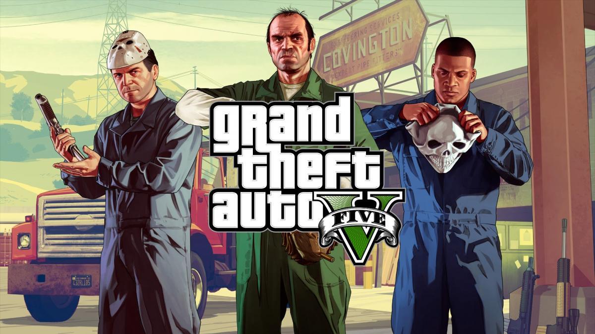 GTA V обновят для консолей нового поколения 11 ноября /фото Rockstar Games