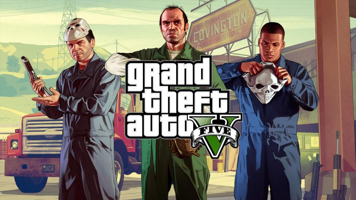 GTA V вийшла в 2013 році / фото Rockstar Games