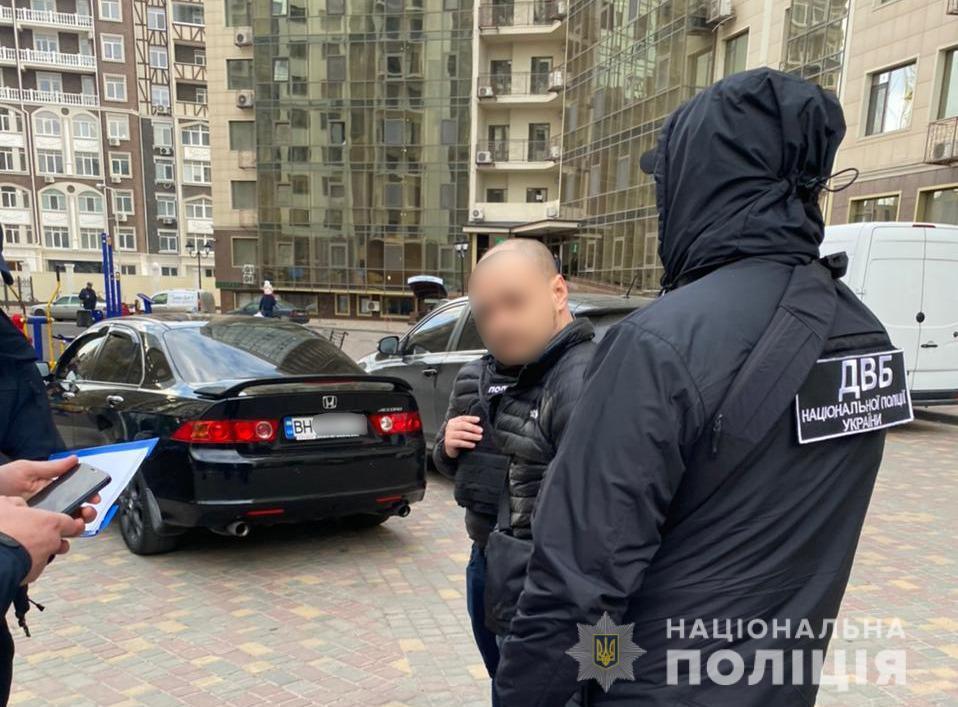 В Одессе задержали полицейского / фото npu.gov.ua