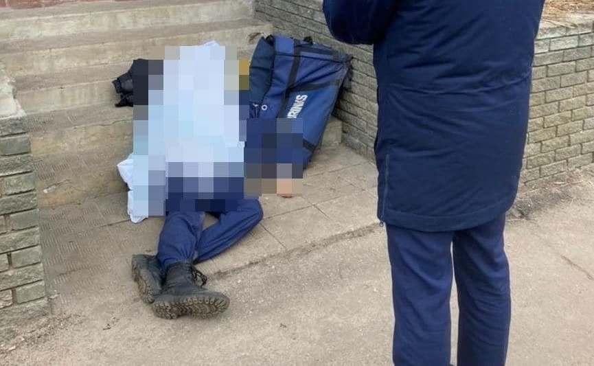 В России случайно застрелили охранника на учениях / фото t.me/breakingmash
