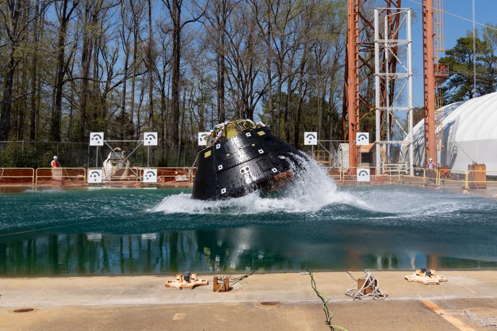 У США випробовують місячний корабель / NASA