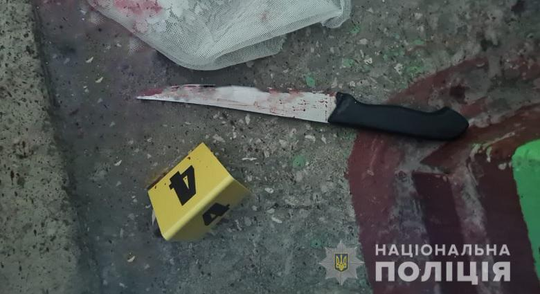 Від отриманого поранення потерпілий помер на місці / фото Нацполіція