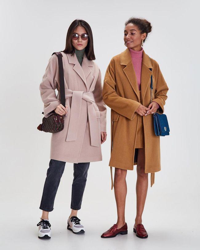 Як носити пальто 2021 / фото pinterest.com