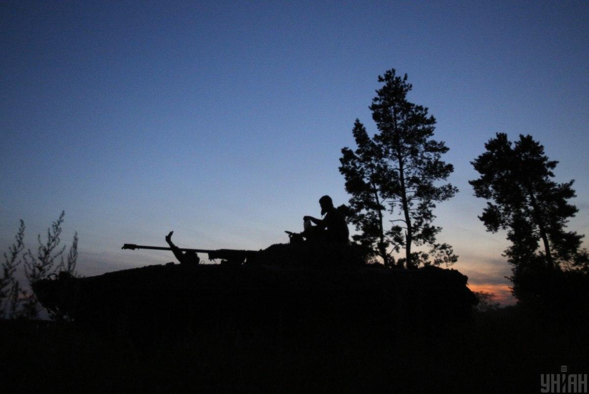 Встрат среди украинских военных нет \ фото УНИАН