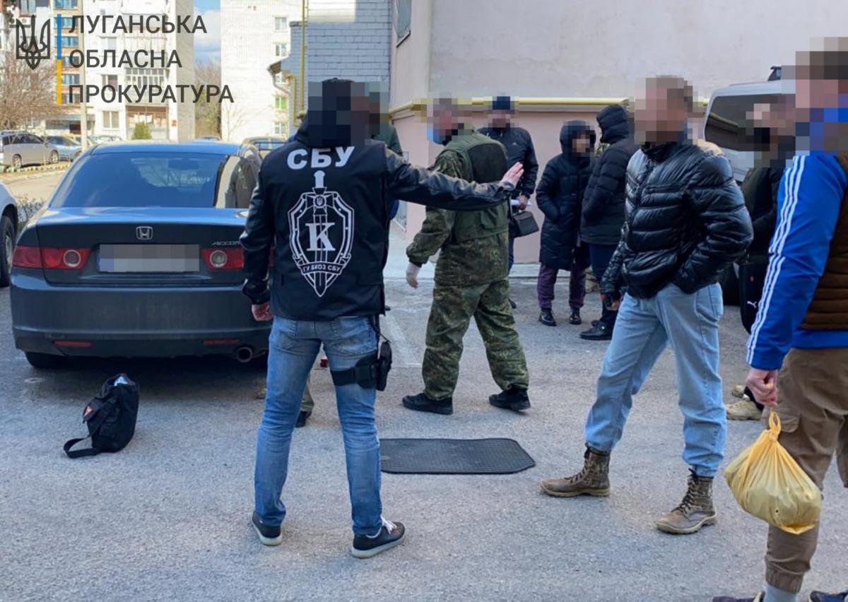 """На Херсонщині затримали колишнього співробітника """"МДБ ЛНР"""" / фото gp.gov.ua"""