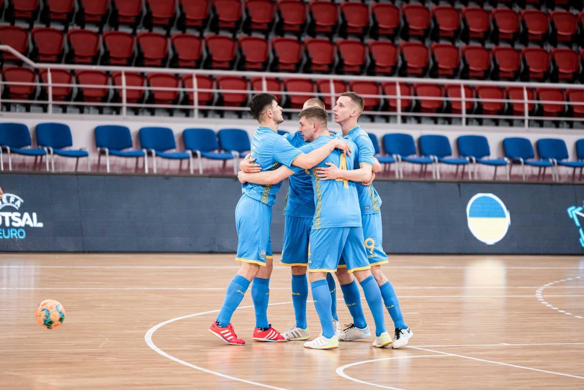 Україна здобула третю перемогу у відборі / фото facebook.UKRAINEFUTSAL
