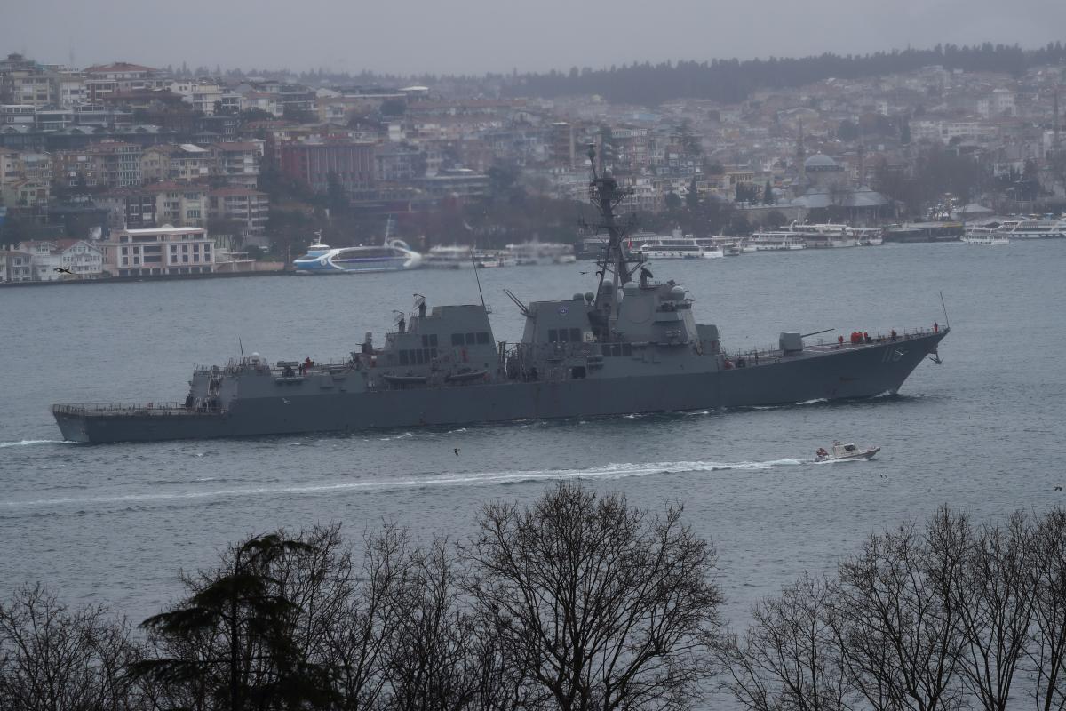 Візити до України військових кораблів США відбуваються регулярно / фото REUTERS