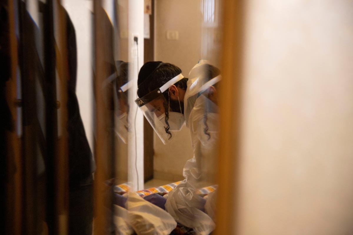 Лечение коронавируса в Израиле / фото REUTERS