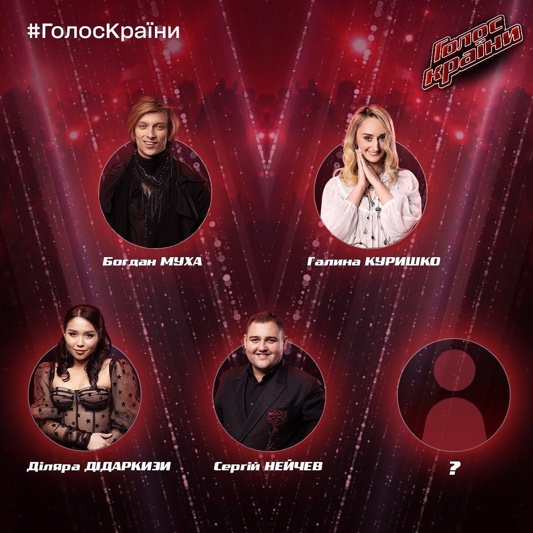 Команда Винника / фото instagram.com/goloskrainy_official