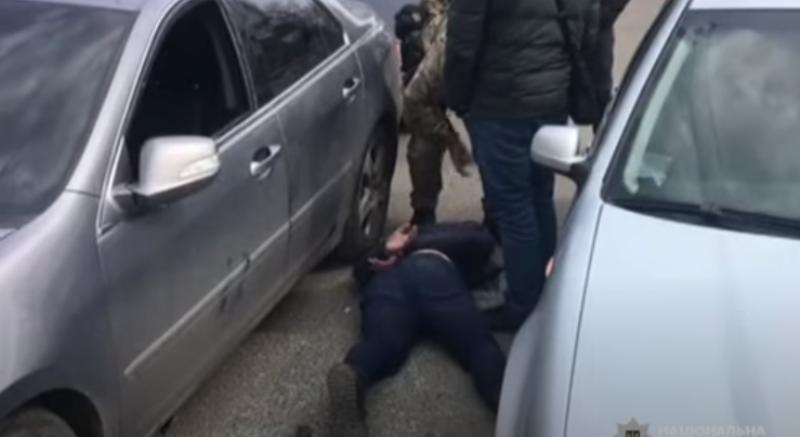 В Одессе задержали участников банды / скриншот