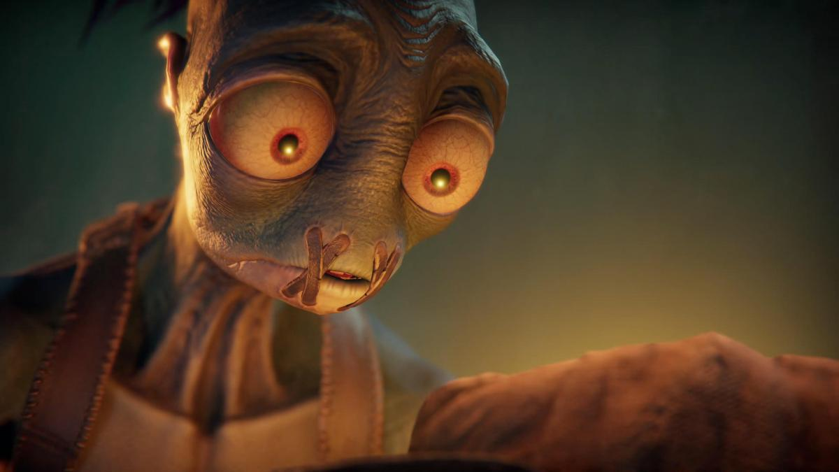 Эйб - главный герой платформера Oddworld: Soulstorm /скриншот