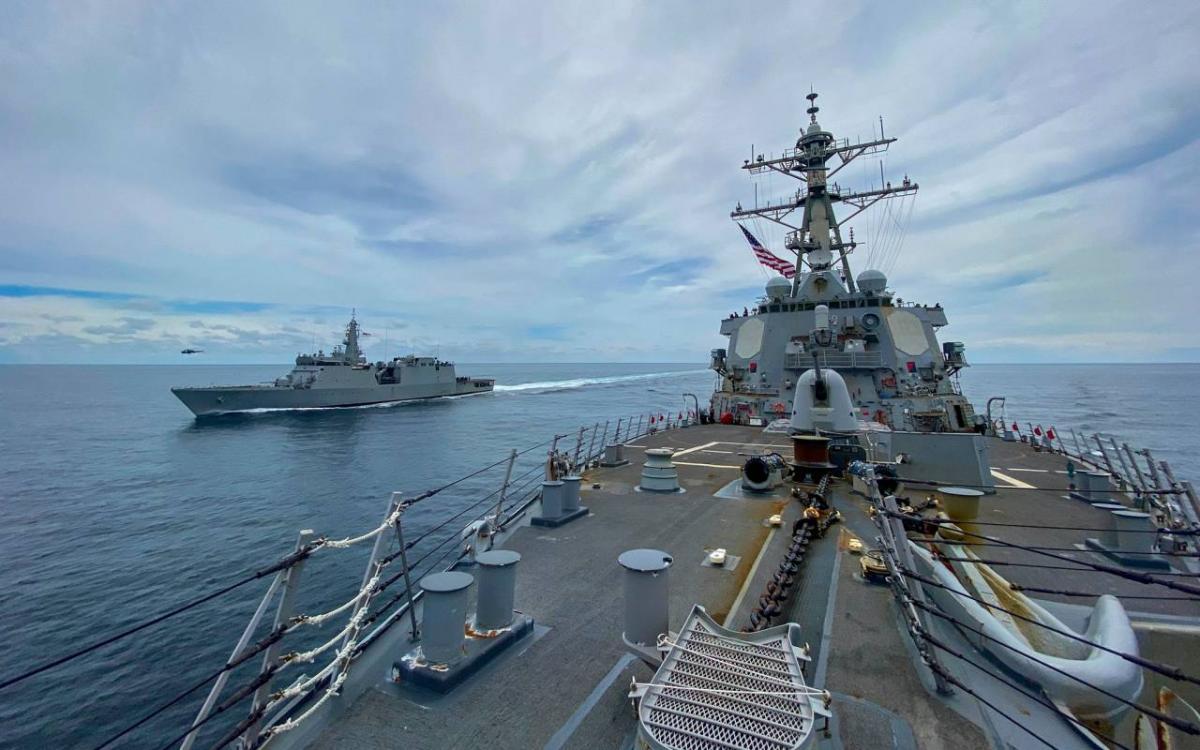 Корабли США пробудут в Черном море до 4 мая / фото facebook.com/USNavy