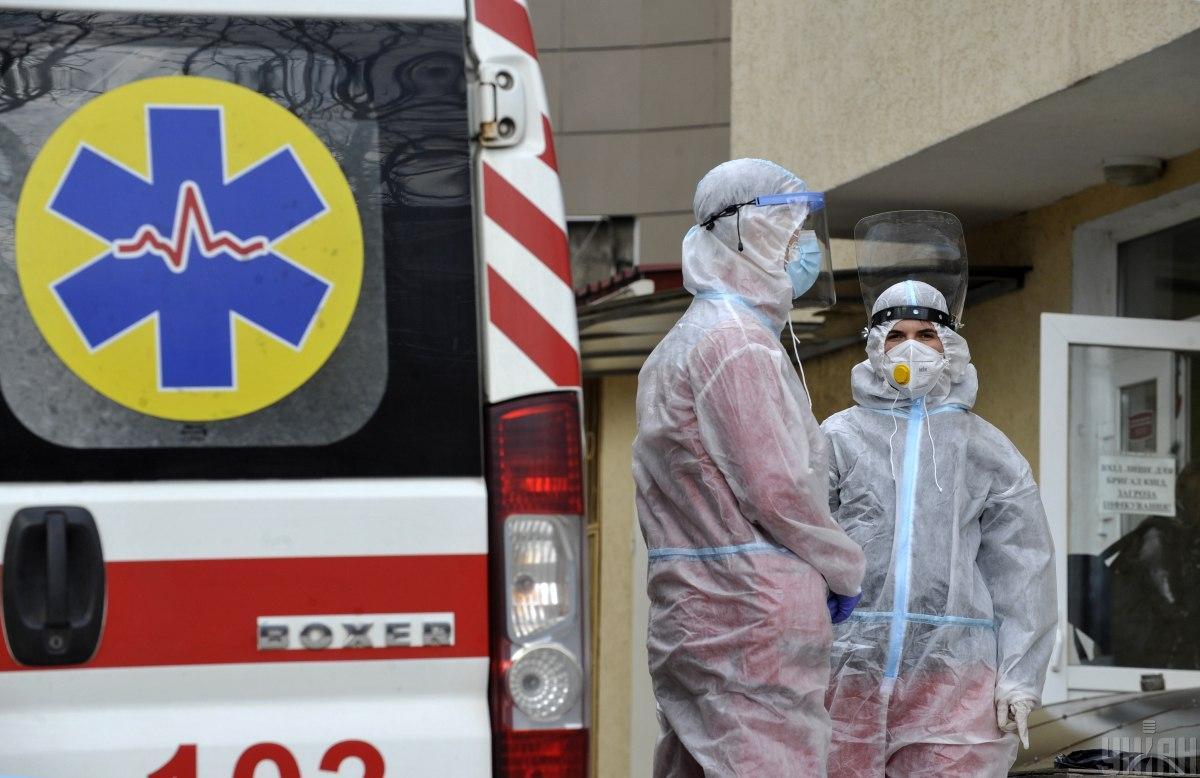 Украина достигла пика третьей волны коронавируса / фото УНИАН, Сергей Чузавков