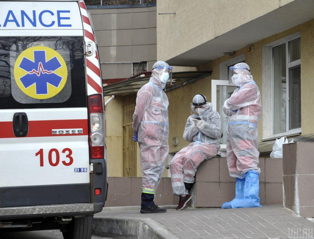 В Украине наблюдаются пиковые нагрузки на службу экстренной медицинской помощи / фото УНИАН