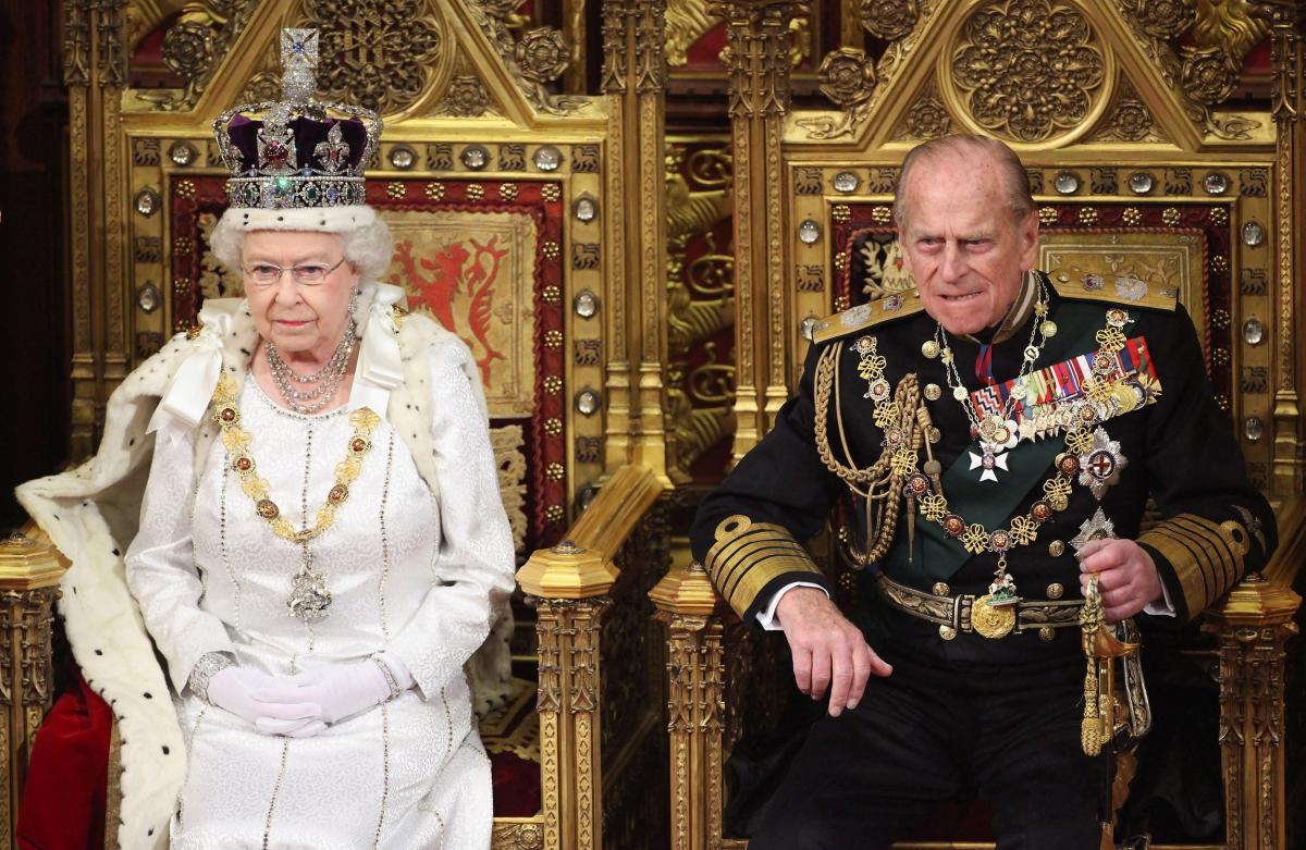 Королева Єлизавета ІІ і принц Філіп / фото REUTERS