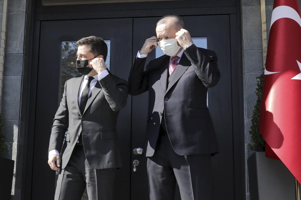 Зеленский находится с визитом в Турции \ president.gov.ua