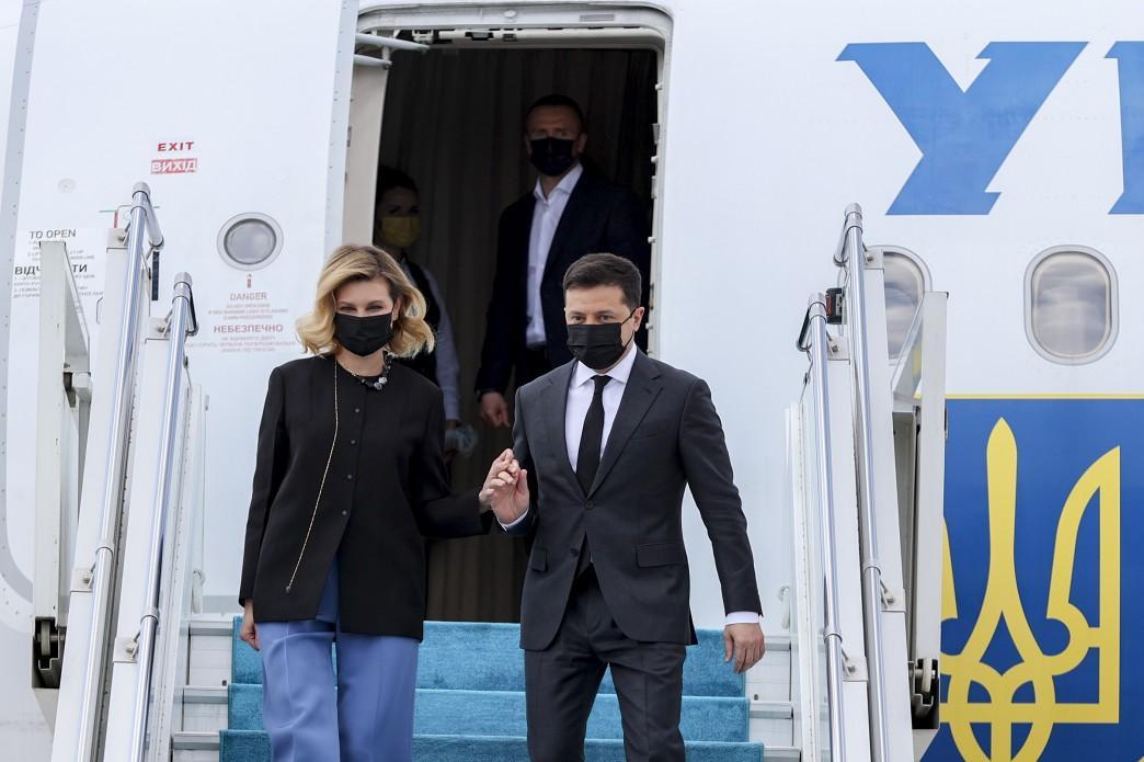 Зеленский прибыл в Турцию вместе с супругой \ president.gov.ua