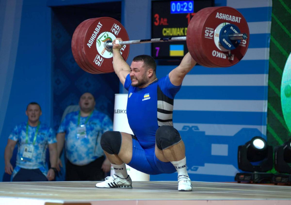 Дмитрий Чумак - чемпион Европы / фото НОК Украины