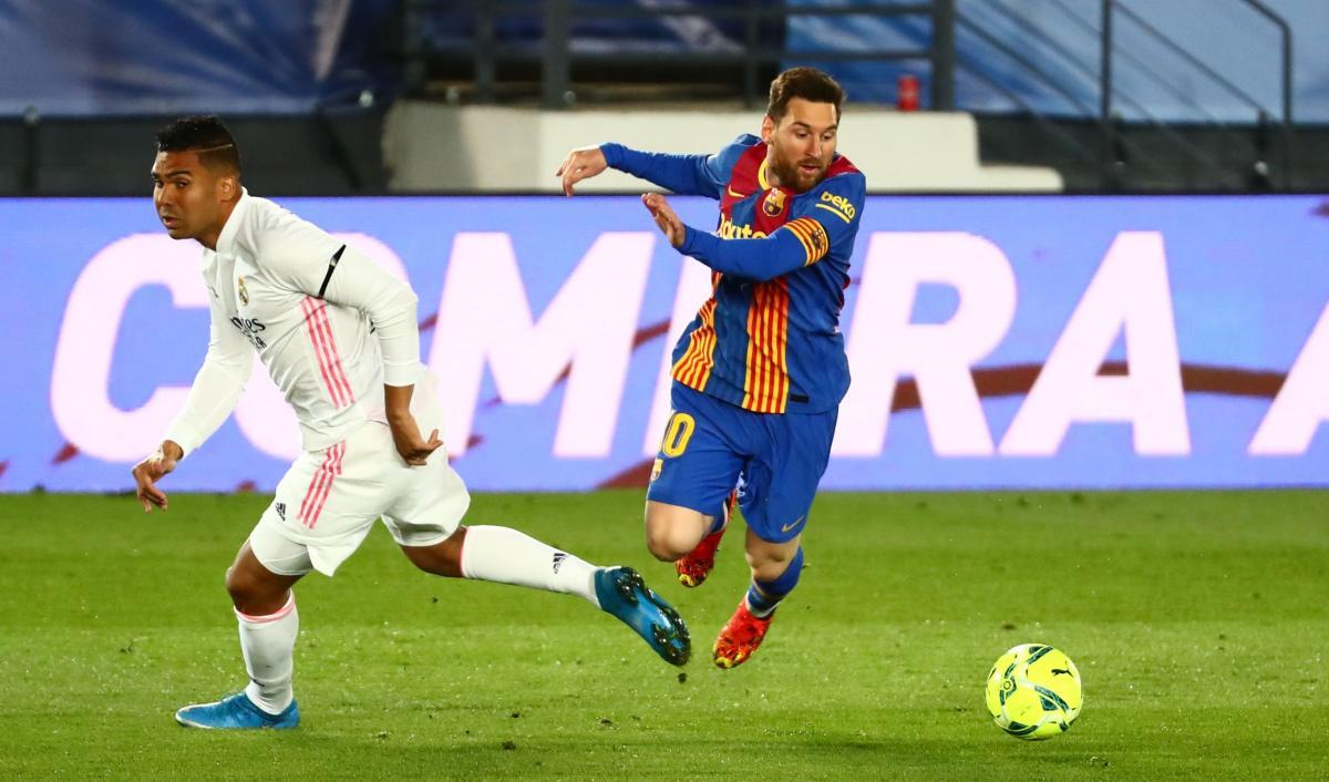 Реал - Барселона / фото REUTERS