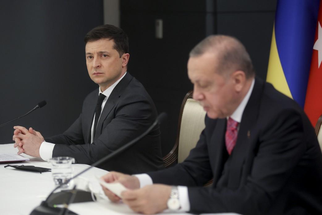 Зеленський зустрівся з Ердоганом / фото: Офіс президента