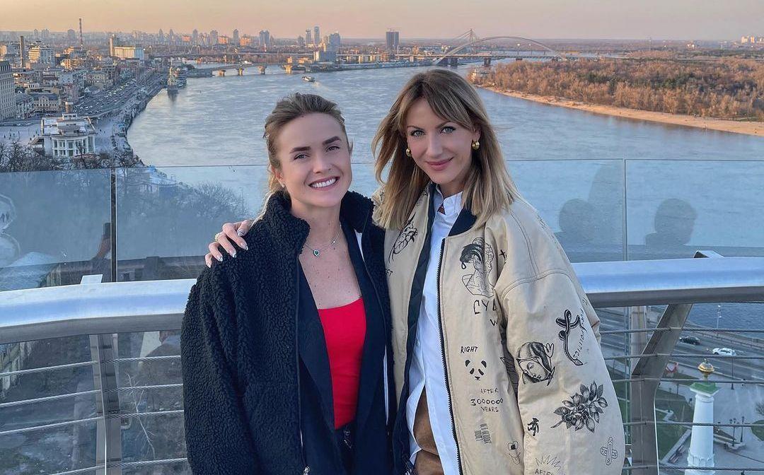 Еліна Світоліна та Леся Нікітюк / фото instagram.com/elisvitolina
