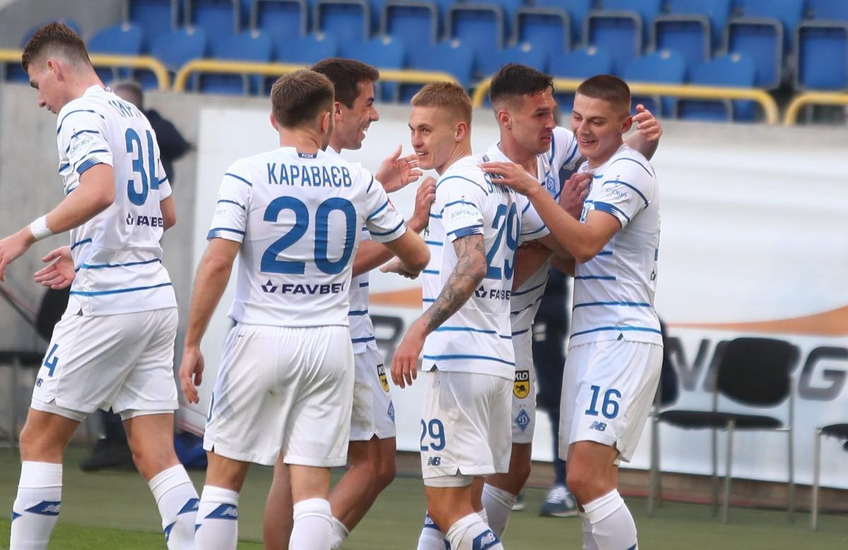 Динамо идет к чемпионскому титулу / фото Динамо Киев