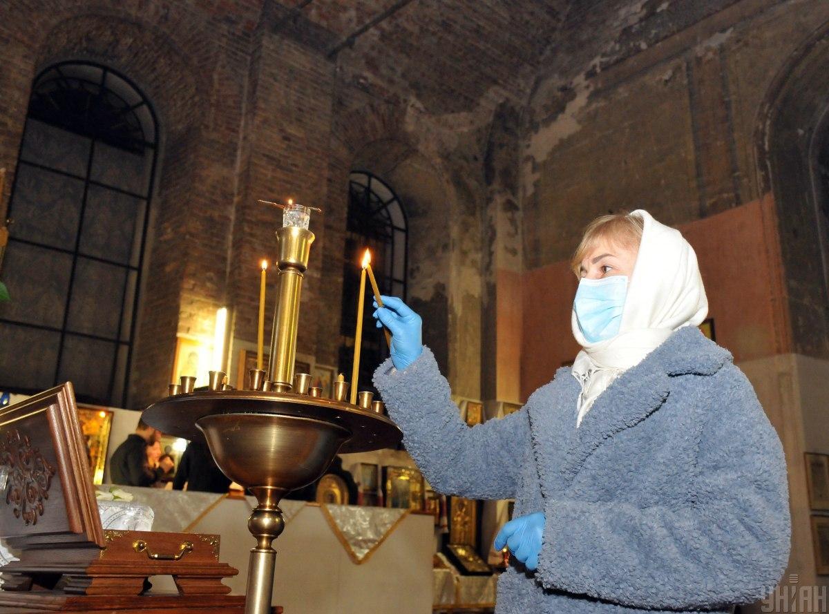 Социологи рассказали, сколько верующих пойдут в церковь на Пасху / фото УНИАН, Мариенко Андрей