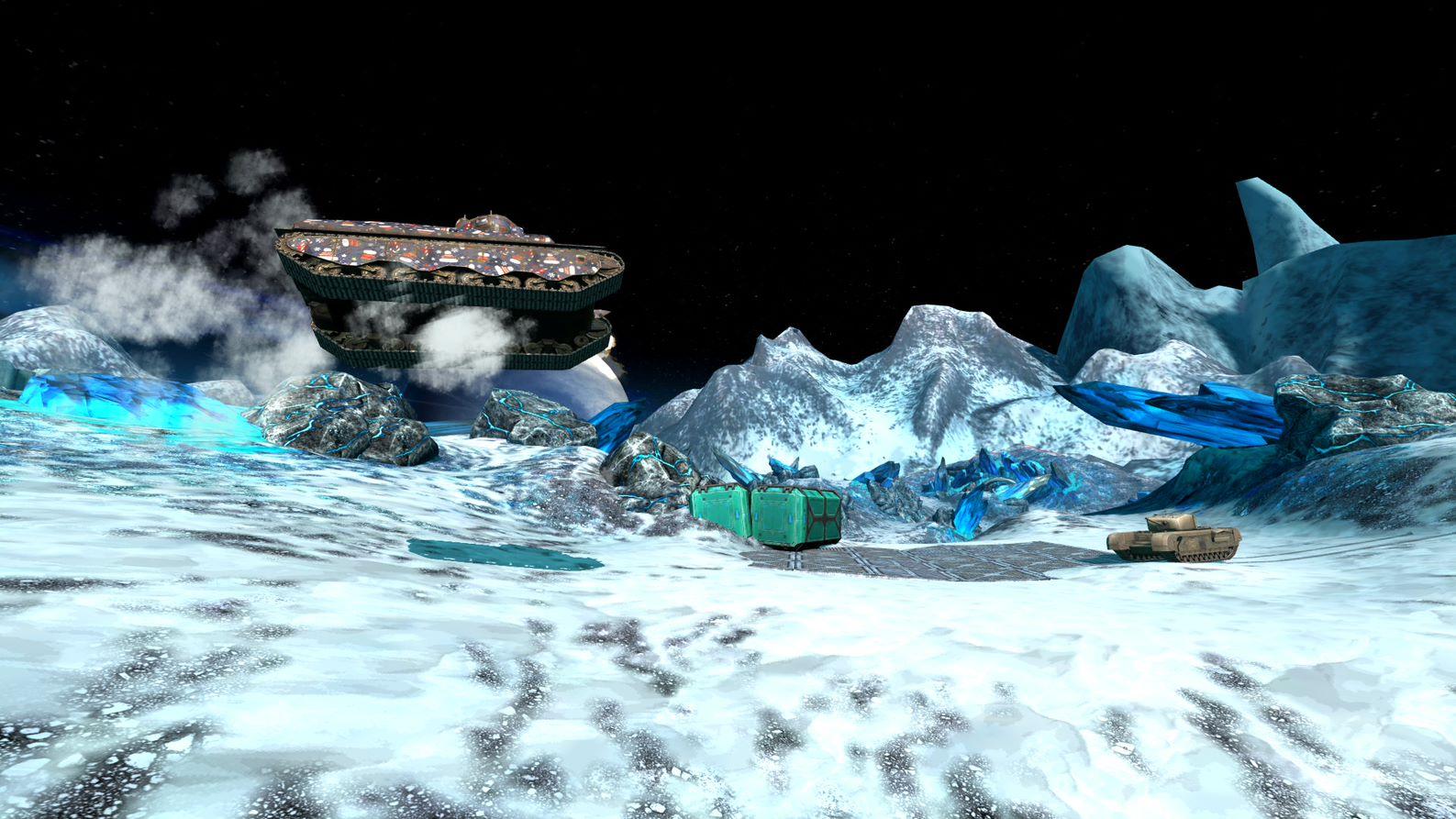 """З механікою """"ракетний двигун"""" танки можна відправити в політ / фото wargaming.net"""