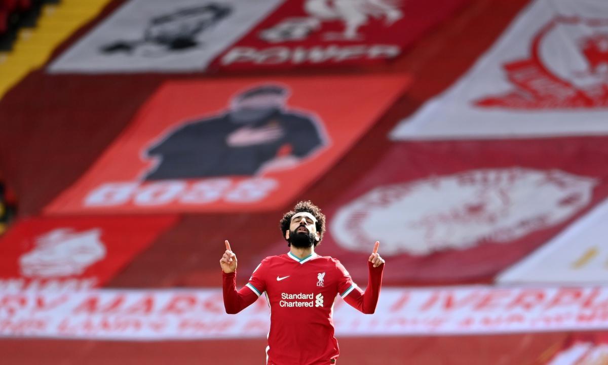 Мохамед Салах забил 6 голов в текущем розыгрыше Лиги чемпионов / фото REUTERS