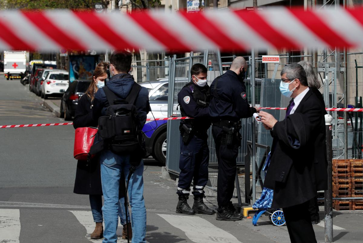 В Париже произошла стрельба / фото REUTERS