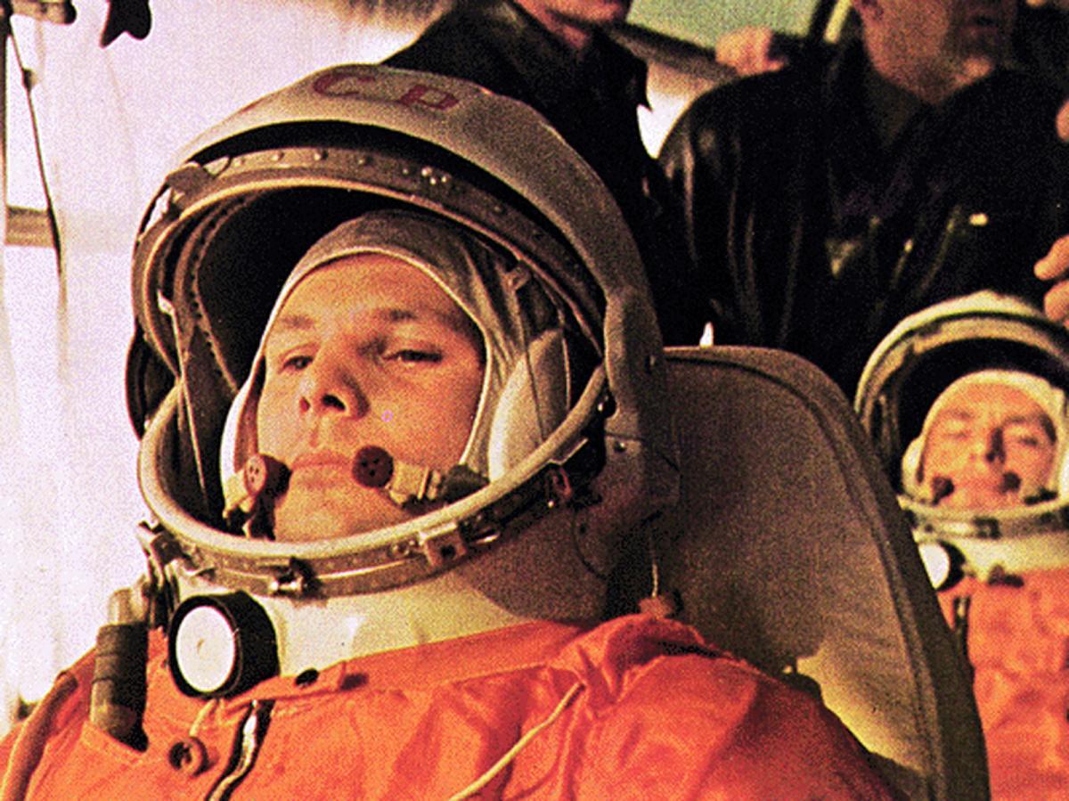 Гагарін приземлився на городі і налякав селян, які думали, що він не людина/ фото Flickr/ITU Pictures